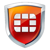 Логотип программы FortiClient для Windows.