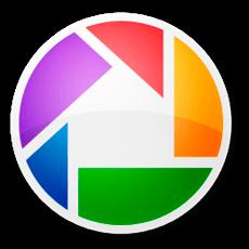 Бесплатные программы для просмотра фото. Логотип Picasa.