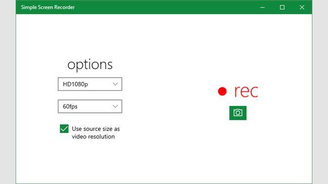 Окно программы Simple Screen Recorder.
