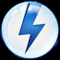 Чем открыть ISO. Логотип программы Daemon Tools Lite.