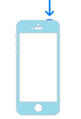 Как отключить Айфон. Схема выключения.