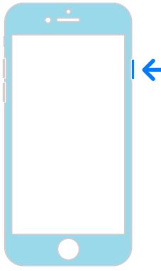 Как отключить Айфон. Схема выключения2.