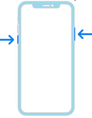 Как отключить Айфон. Схема выключения3.
