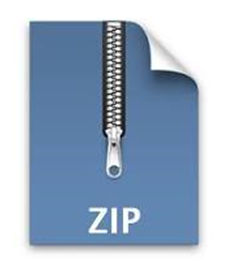 Как открыть  zip файл. Логотип zip файла.