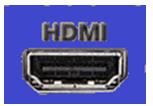 Как подключить компьютер к телевизору. Порт HDMI.