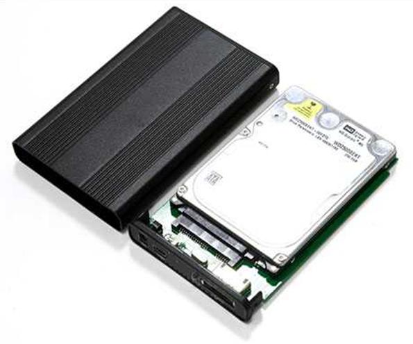 Как подключить жесткий диск от ноутбука к компьютеру. Фото бокса для подключения.