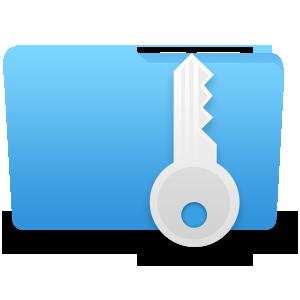 Как скрыть папку в Windows. Логотип программы Wise Folder Hider.