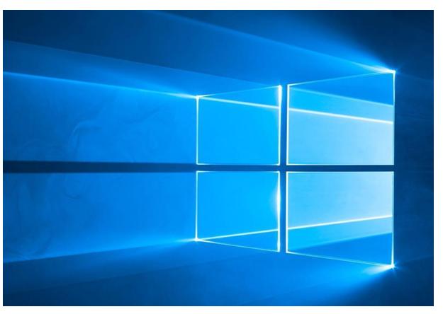 Как включить режим поиска. Фото логотипа Windows.