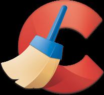 Программы  для очистки Windows и компьютеров. Логотип программы CCleaner.