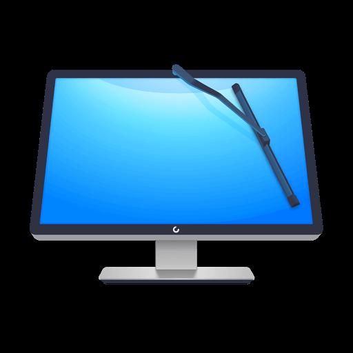 Программы  для очистки Windows и компьютеров. Логотип программы CleanMyPC.