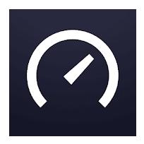 Проверить скорость интернета на телефоне. Логотип Speedtest.net.