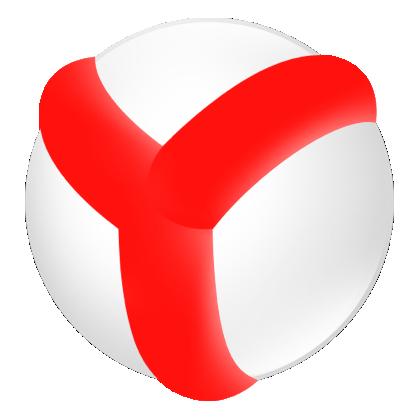 Убрать рекламу в Яндекс браузере. Логотип Яндекс.