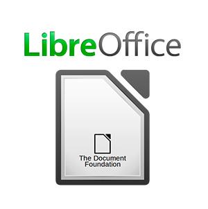 Как открыть PDF. Логотип программы LibreOffice.