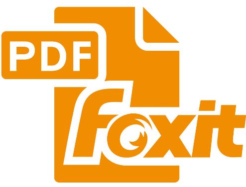 Как открыть PDF. Логотип программы Foxit Reader.