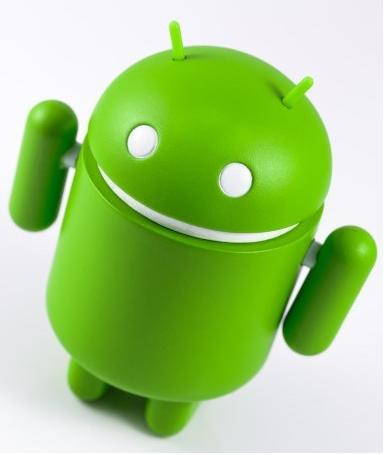Удаленные приложения в Android. Логотип Android.